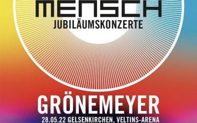 """Herbert Grönemeyer """"20 Jahre Mensch"""" Jubiläumskonzerte"""